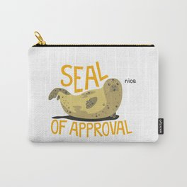 seal of approval Carry-All Pouch