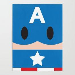 Captain Block Poster