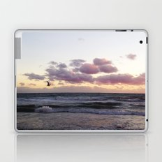 Sunset and Seagull Laptop & iPad Skin