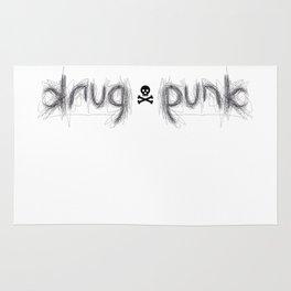 DRUG PUNK ambigram Rug