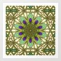 Peacock Healing Light Mandala by webgrrl