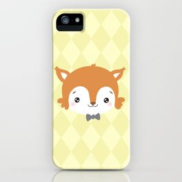 foxy baby iPhone Case