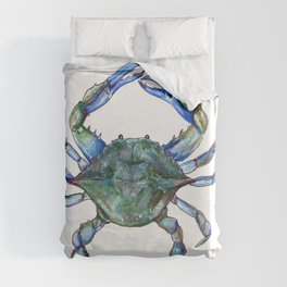 Maryland Crab Duvet Cover