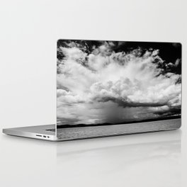 white clouds Laptop & iPad Skin