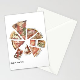 Slices of New York Stationery Cards