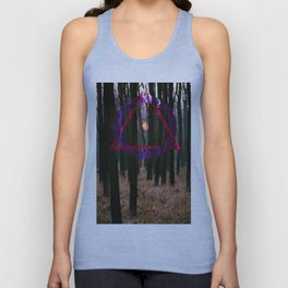 Geometric Forestry Unisex Tank Top