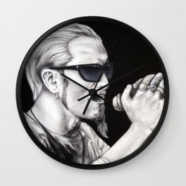 Layne Staley - Alice in Chains Wall Clock