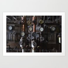 Knobs Art Print