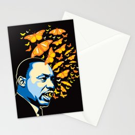 The Voice of Change Stationery Cards