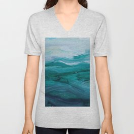 Private Beach Unisex V-Neck