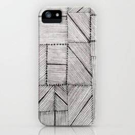 Just Lines 2 iPhone Case