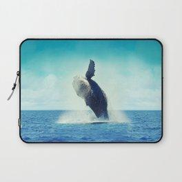 Happy Whale Laptop Sleeve