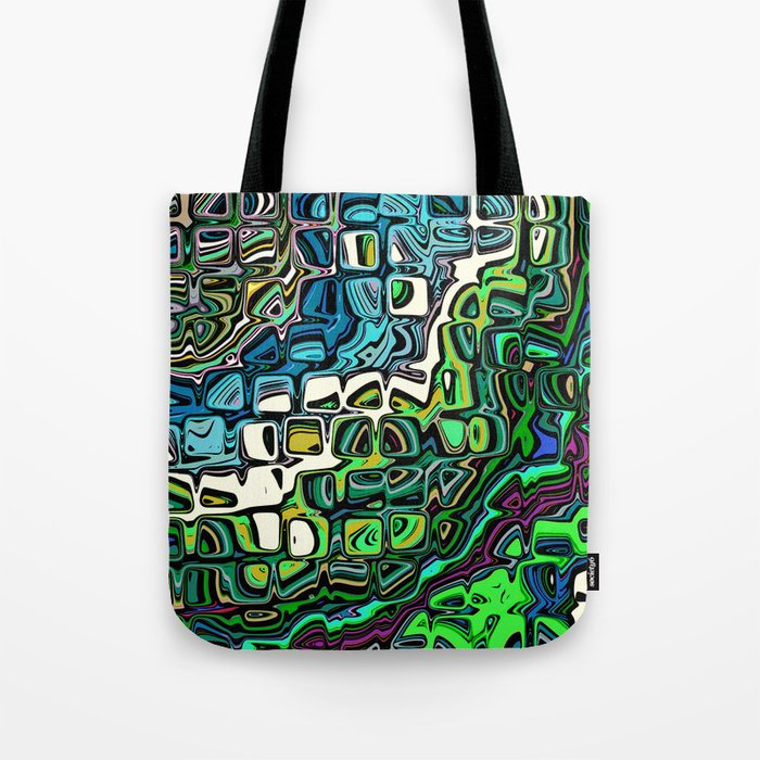 Abstract Blocks of Color Tote Bag