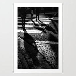 Three Shadows Art Print
