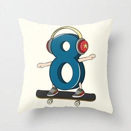 Sk8er (Skater) Throw Pillow