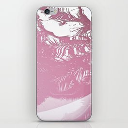 Reflected Pink iPhone Skin