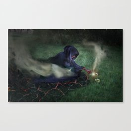 The Epitome of Man Canvas Print