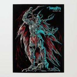 MUMM-RA BLACK THEME Poster
