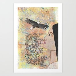 Hope by patsy paterno Art Print