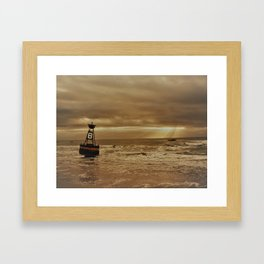 Sunrise at Perigian Framed Art Print
