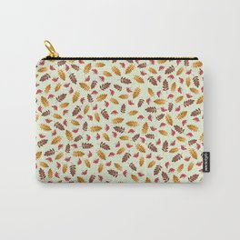 Rowanberries In Fall (green) Carry-All Pouch