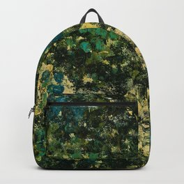Garden (Green Abstract) Backpack
