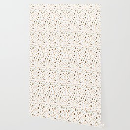 children hedgehog pattern, forest design Wallpaper