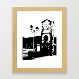 Special Clocktower Framed Art Print