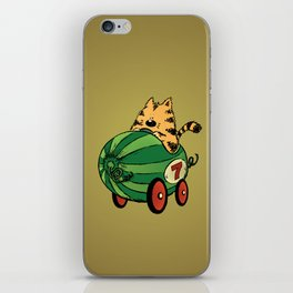 Albert and his watermelon ride iPhone Skin