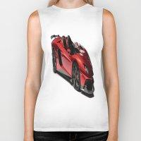 lamborghini Biker Tanks featuring Lamborghini Veneno by rosita