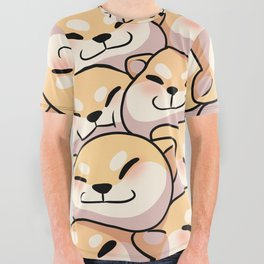 Dogpile All Over Graphic Tee