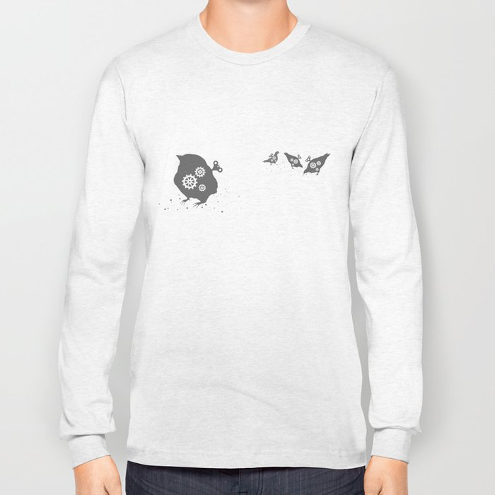 In which wind-up birds happen Long Sleeve T-shirt