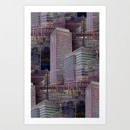 office Dayze Art Print