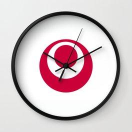 okinawa region flag japan prefecture Wall Clock