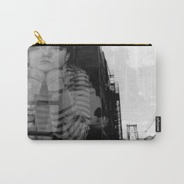 Williamsburg Bridge Analog Carry-All Pouch