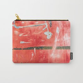 Etched Scratchings of a Mad Red Monk Carry-All Pouch