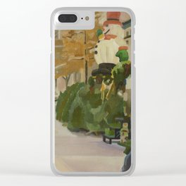 102nd broadway Clear iPhone Case
