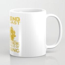 WEEKEND FORECAST MOTORCYCLE RACING Coffee Mug