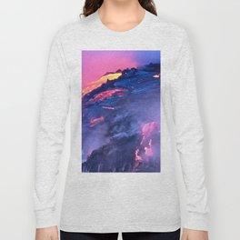 Kilauea Volcano Lava Flow. 4 Long Sleeve T-shirt
