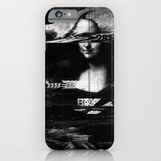 Mona Lisa Glitch Slim Case iPhone 6s
