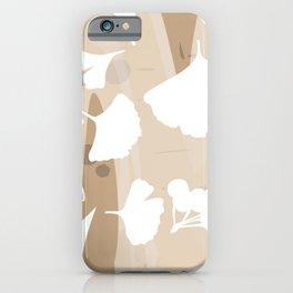 Ginkgo biloba leaves. iPhone Case