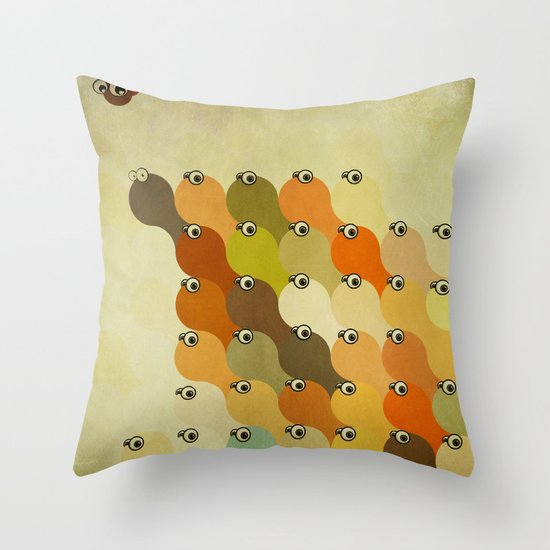 Who wants to be a leader? Throw Pillow