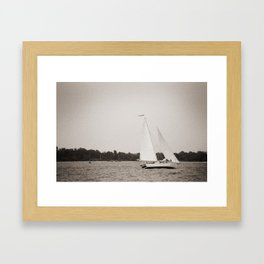 Woodwind II Framed Art Print