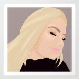 @makeup.by.jeanne Art Print