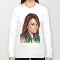 turquoise Long Sleeve T-shirts featuring Turquoise by Lara