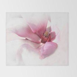 Magnolienblüte Throw Blanket