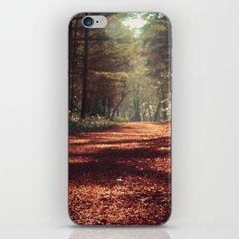 Woodsie Walk iPhone Skin