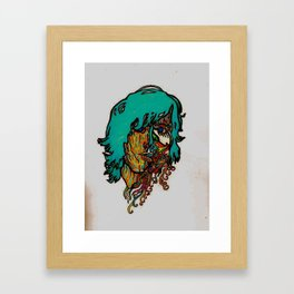 keep your head Framed Art Print