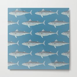 Wholly Mackerel Metal Print