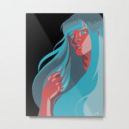 Who I Am Metal Print